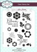 Creative Expressions - Dotty About You A5 Clear Stamp Set - CEC847